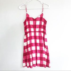 🌺🌞 Gap Pink and White Gingham Dress 🌞🌺
